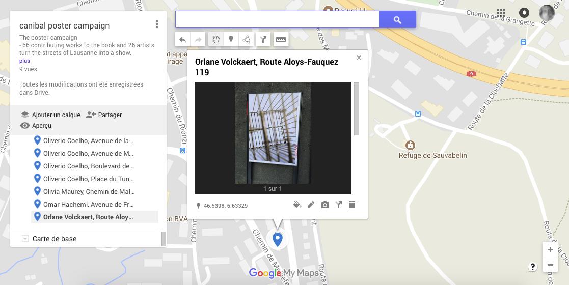 Orlane Volckaert, aloys-fauquez 119, Lausanne-map
